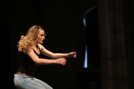 Performing Hélène Cathala's work at Dance Limerick
